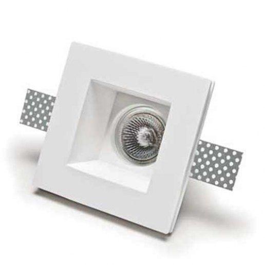 Immagine per Master corpo in gesso ad incasso a soffitto 12 cm x 12 cm 220V - Faretti moderni  -  BELFIORE ILLUMINAZIONE