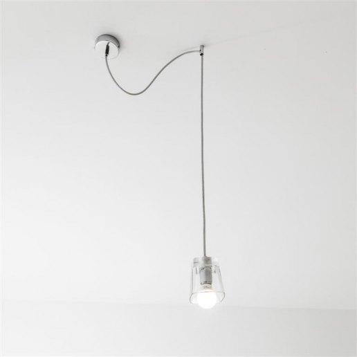 Immagine per Sunglass Campari S1 1 luce decentrato - Lampadario moderno - OLUX ILLUMINAZIONE