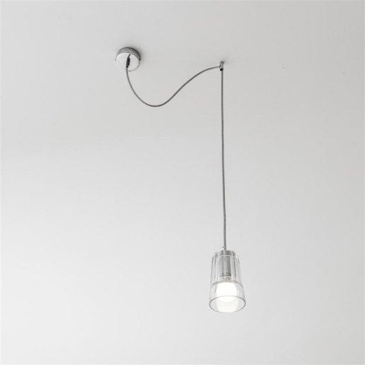 Immagine per Sunglass Mojito S1 1 luce decentrato - Lampadario moderno - OLUX ILLUMINAZIONE
