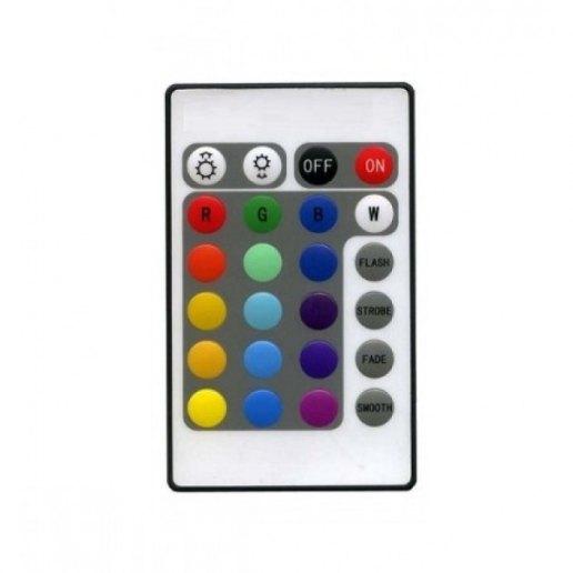 Immagine per Mini centralina di controllo per striscia led RGB completa di TELECOMANDO 72 watt 12 volt - Strip led - OLUX ILLUMINAZIONE