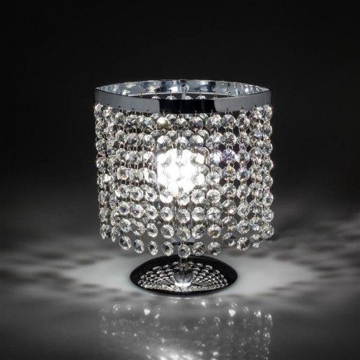 Immagine per Oval 1 luce 208 cristalli - Lumetto lampada da tavolo - OLUX ILLUMINAZIONE