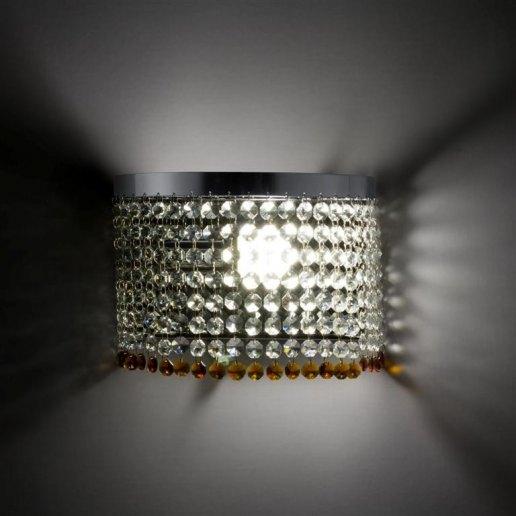 Immagine per Oval 1 luce 176 cristalli - Applique cristallo - OLUX ILLUMINAZIONE