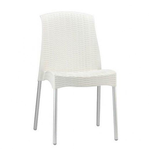 Immagine per Olimpia Chair(gambe anodizzate) Sedia Design Scab Design - Lino