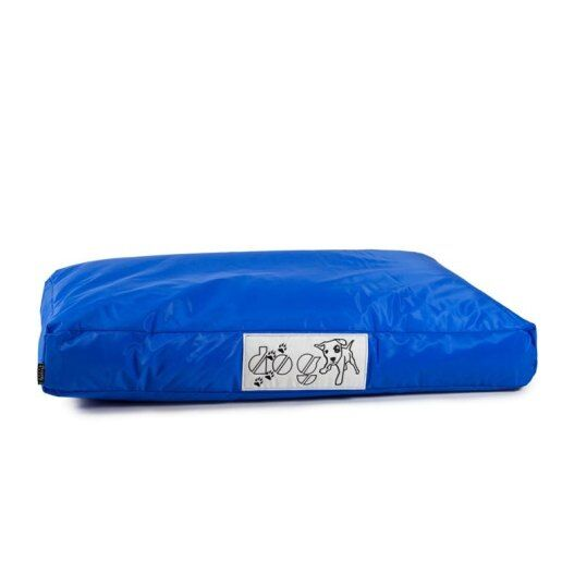 Immagine per Pouf dog l CUSCINO grande per cane nylon plasticato Blues blu royal  imbottito - Avalon