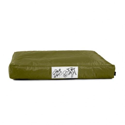 Immagine per Pouf dog l CUSCINO grande per cane nylon plasticato Blues verde militare imbottito - Avalon