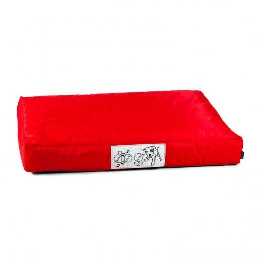 Immagine per Pouf dog l CUSCINO grande per cane nylon plasticato Blues rosso imbottito - Avalon