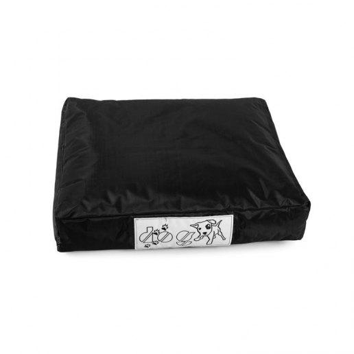 Immagine per Pouf dog CUSCINO piccolo per cane nylon plasticato Blues nero imbottito - Avalon