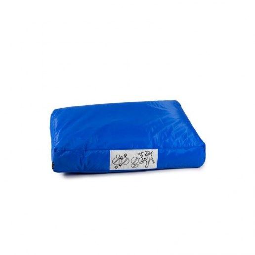 Immagine per Pouf dog CUSCINO piccolo per cane nylon plasticato Blues blu royal imbottito - Avalon