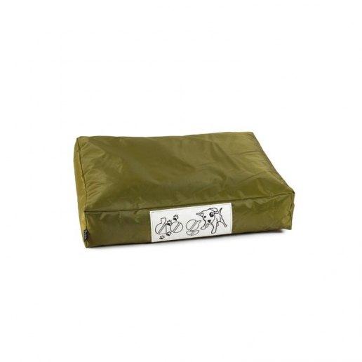 Immagine per Pouf dog CUSCINO piccolo per cane nylon plasticato Blues verde militare imbottito - Avalon