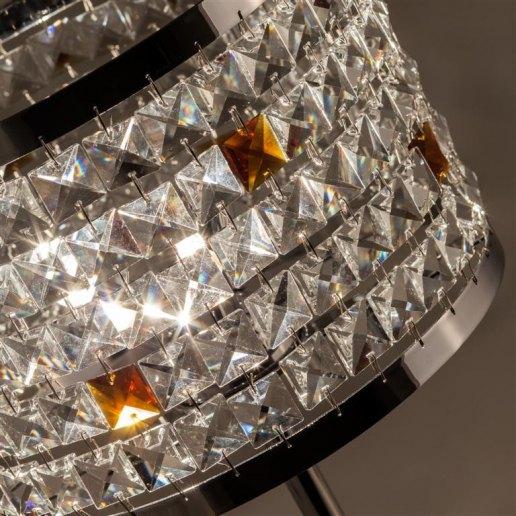 Immagine per Circles alt. 45 cm 3 luci - Lampada da tavolo in cristallo - OLUX ILLUMINAZIONE