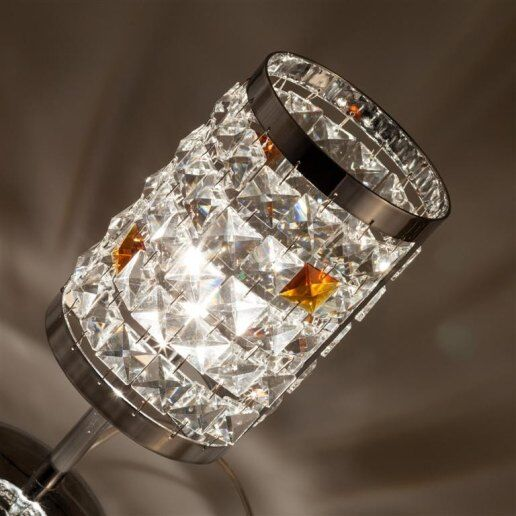 Immagine per Circles alt. 27 cm 1 luce - Lampada da tavolo in cristallo - OLUX ILLUMINAZIONE