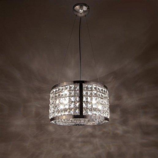 Immagine per Circles 30 cm 3 luci - Lampadario cristallo - OLUX ILLUMINAZIONE