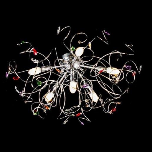 Immagine per Ricciolo 6 luci - Plafoniera, lampada da soffitto - OLUX ILLUMINAZIONE