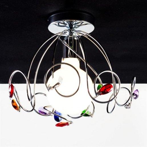 Immagine per Ricciolo 1 luce - Plafoniera, lampada da soffitto - OLUX ILLUMINAZIONE