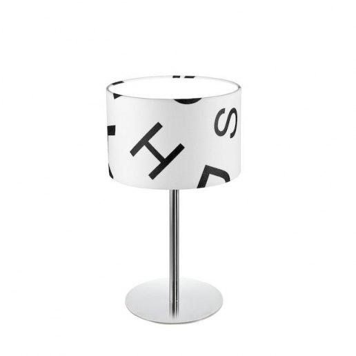Immagine per Roary ABC T1 bianco e nero - Lampada da tavolo - OLUX ILLUMINAZIONE