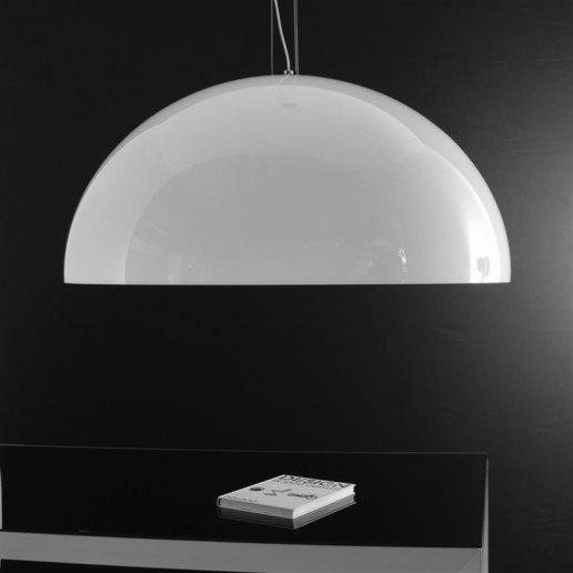 Immagine per Yurta bianco diam. 115 - 4 luci - Lampadario moderno - OLUX ILLUMINAZIONE