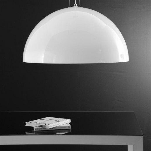 Immagine per Yurta bianco diam. 80 - 4 luci - Lampadario moderno - OLUX ILLUMINAZIONE