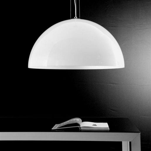 Immagine per Yurta bianco diam. 60 - 2 luci - Lampadario moderno - OLUX ILLUMINAZIONE