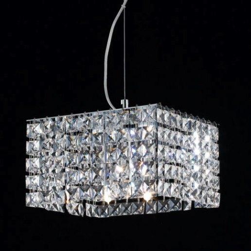 Immagine per Brat quadro 24X24 cm cristalli trasparenti - Lampadario, Sospensione - OLUX ILLUMINAZIONE