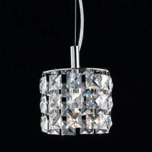 Immagine per Brat tondo diam. 10 cm cristalli trasparenti - Lampadario, Sospensione - OLUX ILLUMINAZIONE