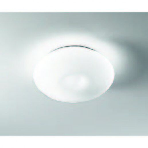 Opalmoon diam. 35cm vetro satinato bianco - Plafoniera moderna - ALBANI  LIGHTING