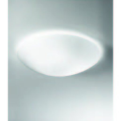 Opalmoon diam. 42cm vetro satinato bianco - Plafoniera moderna - ALBANI  LIGHTING