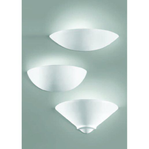 Immagine per Linea 191 h 13 cm in ceramica bianca - applique moderna - ALBANI LIGHTING