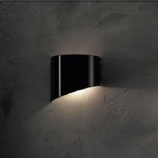 Immagine per Demetra piccolo nero - Lampada da parete, Applique - E' LUCE