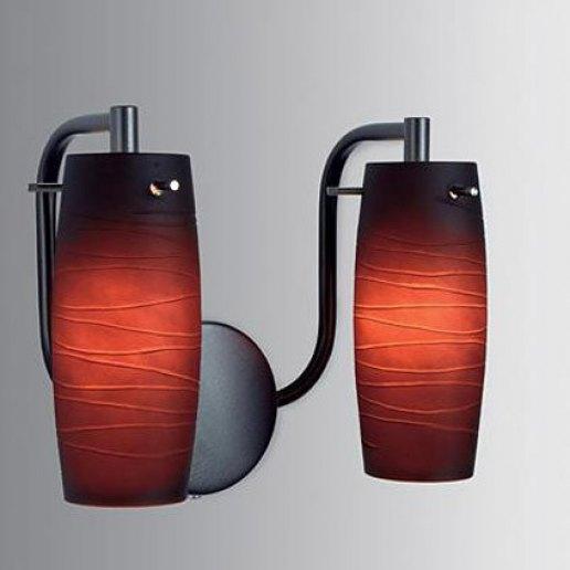 Immagine per Intrighi doppio cromo - testa di moro - Lampada da parete, Applique - E LUCE