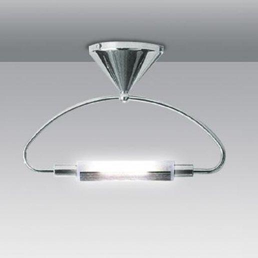 Immagine per Saturno singolo - nikel - Plafoniera - E' LUCE