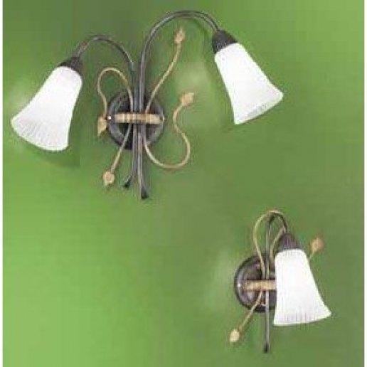 Immagine per SALICE AMBRA 2 LUCI - Lampada da parete, Applique - SFORZIN ILLUMINAZIONE