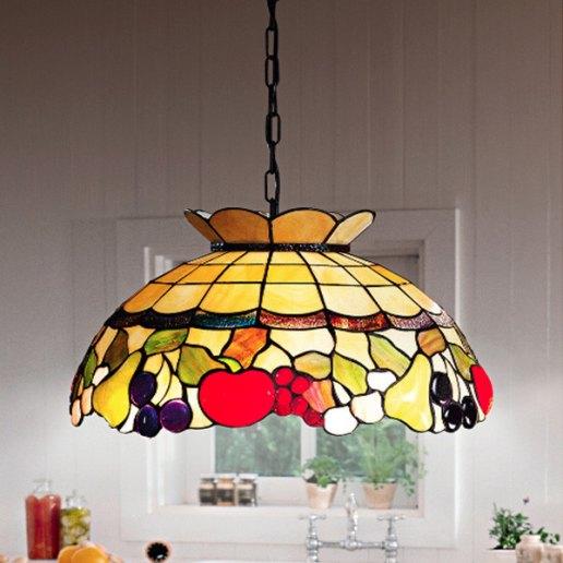 Immagine per Tiffany e complementi d'arredo 265 vetri 55 cm - Lampadario, Sospensione - PERENZ