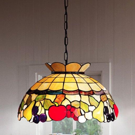 Immagine per Tiffany e complementi d'arredo 209 vetri 45 cm - Lampadario, Sospensione - PERENZ