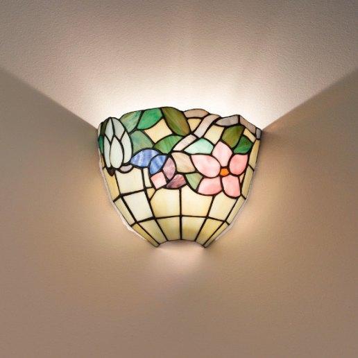 Tiffany e complementi d 39 arredo 55 vetri lampada da for Illuminazione d arredo