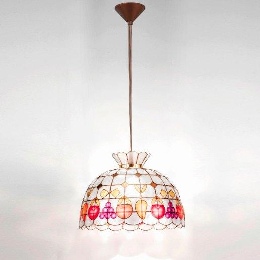 Immagine per Madreperla sospensione decorata 42 cm - Lampadario, Sospensione - PERENZ