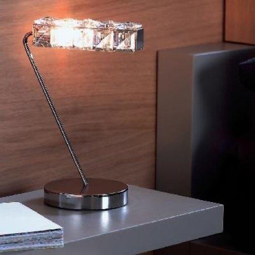 Immagine per Hydra lp nichel - Lampada da tavolo - MARCHETTI ILLUMINAZIONE
