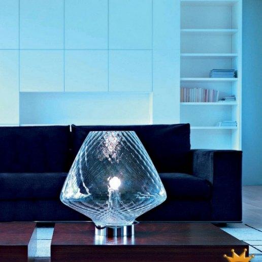 Forme grande lampada da tavolo av mazzega lampade da for Lampada da tavolo grande