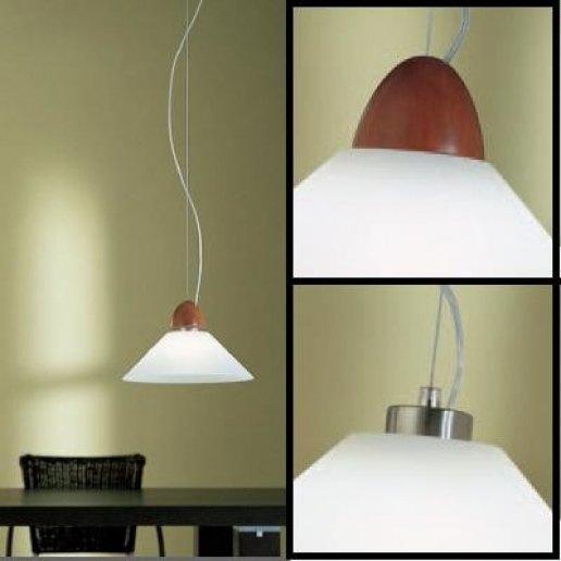 Immagine per Fly grande singolo legno - Lampadario, Sospensione - VISTOSI