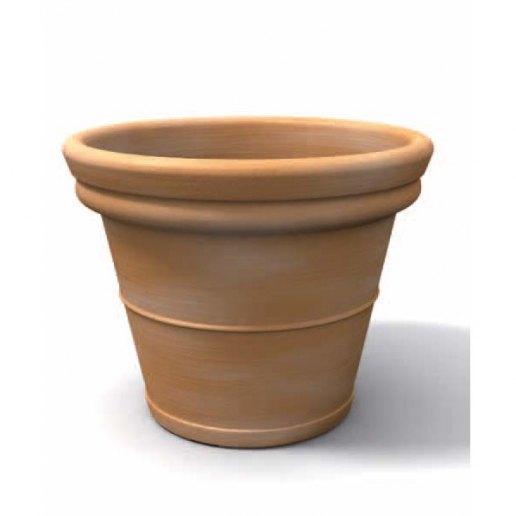 Immagine per Tondo liscio 55 - Vaso per esterno design - KLORIS VASI D'ARREDO
