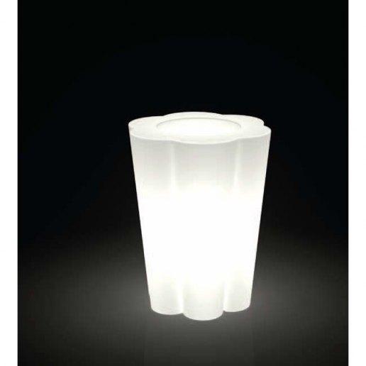Immagine per Kit 'Lulet PV (portavaso) 65' + 'kit illuminazione' - Vaso per esterno design - KLORIS VASI D'ARREDO