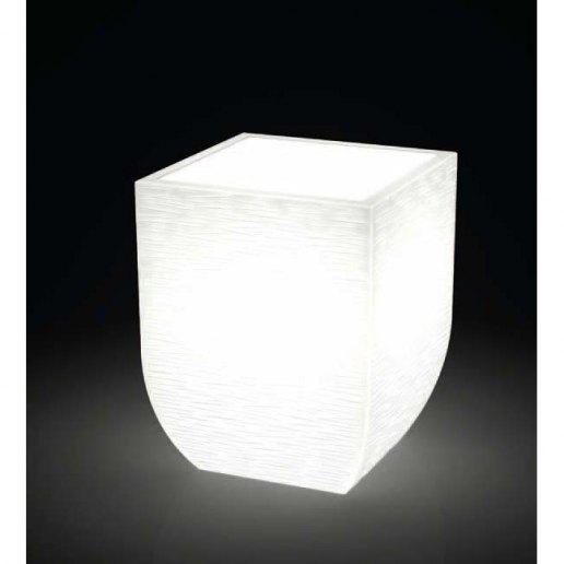 Immagine per Kit 'Salentino rustico 60' + 'kit illuminazione' - Vaso per esterno design - KLORIS VASI D'ARREDO