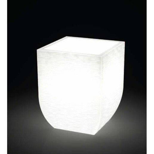 Immagine per Kit 'Salentino rustico 30' + 'kit illuminazione' - Vaso per esterno design - KLORIS VASI D'ARREDO
