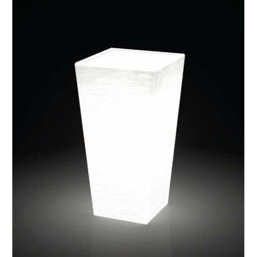 Immagine per Kit 'Egizio rustico 90' + 'kit illuminazione' - Vaso per esterno design - KLORIS VASI D'ARREDO