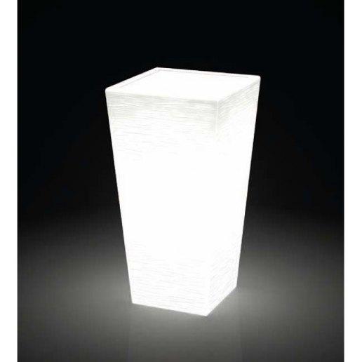 Immagine per Kit 'Egizio rustico 55' + 'kit illuminazione' - Vaso per esterno design - KLORIS VASI D'ARREDO