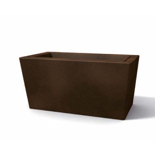 Immagine per Ionico (controvaso) liscio 70 - Vaso per esterno design - KLORIS VASI D'ARREDO