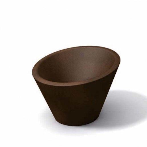 Dorico liscio 70 vaso per esterno design kloris vasi d for Kloris vasi