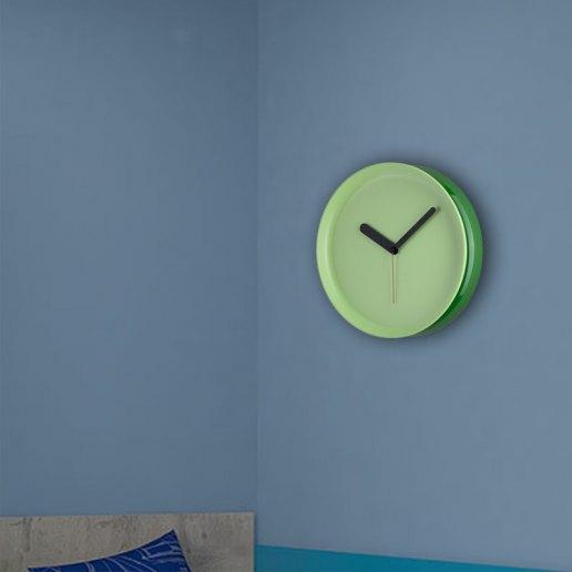Immagine per Orologio da parete in metallo colorato - Yo-Yo - OWATCH