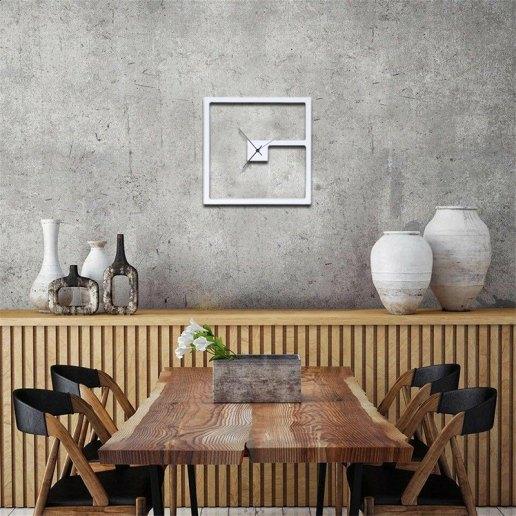 Immagine per Orologio da parete in legno colorato - Quadro - OWATCH
