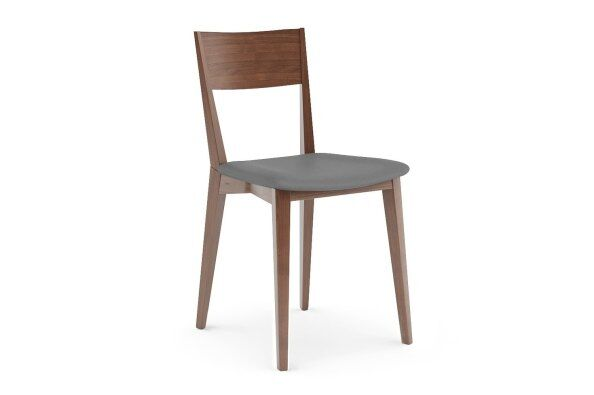 Orson Leather Seat Dining Chair
