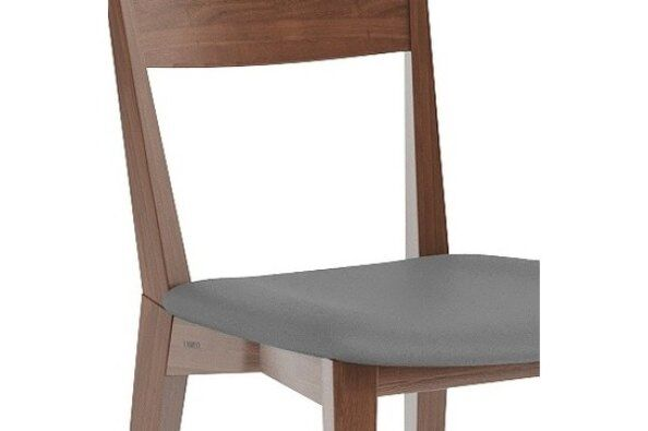 Orson Leather Seat Dining Chair / 2